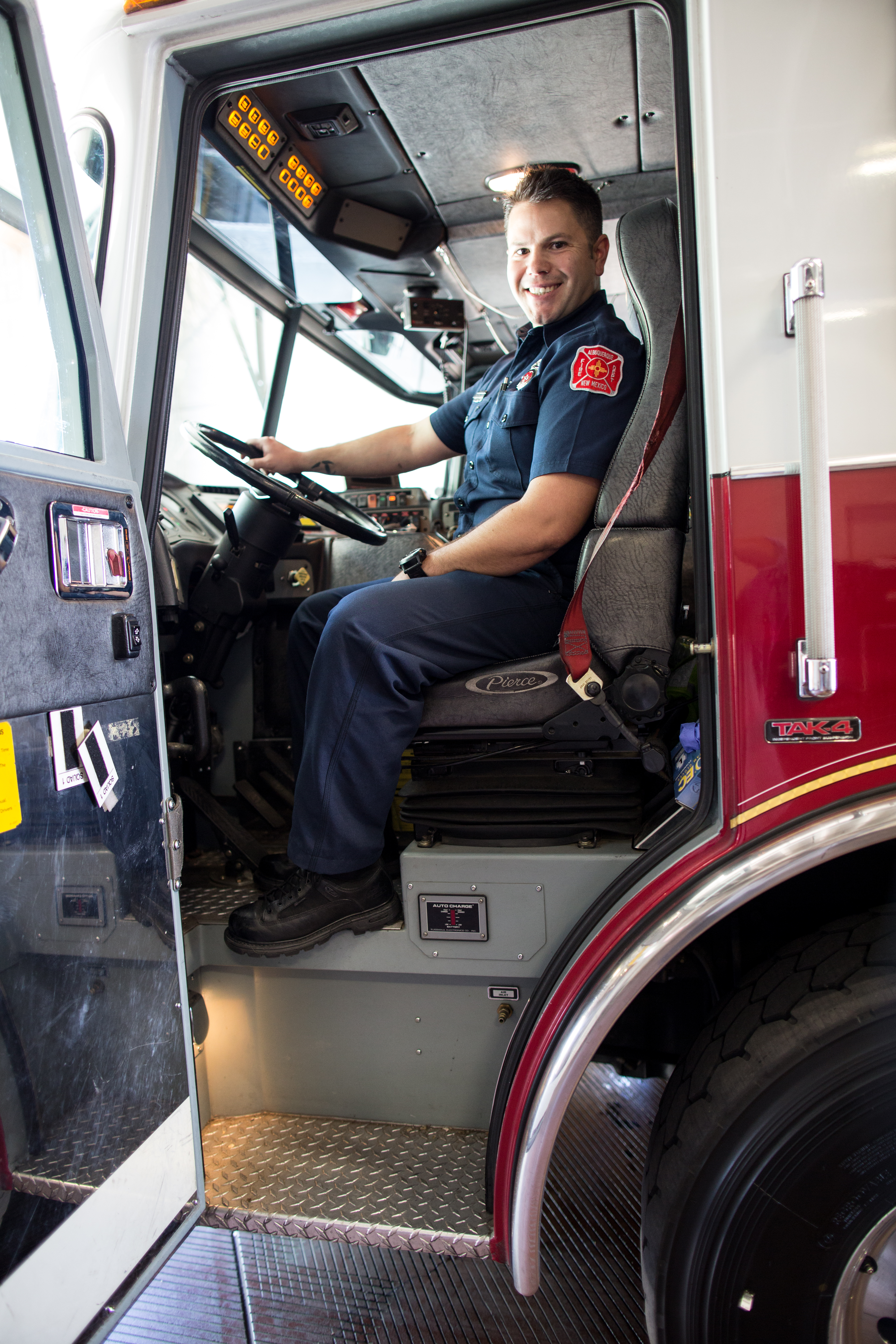 Albuquerque The Magazine The 911 Ride Alongs with First – Hazmat Driver