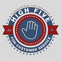 High Five Customer Service Button