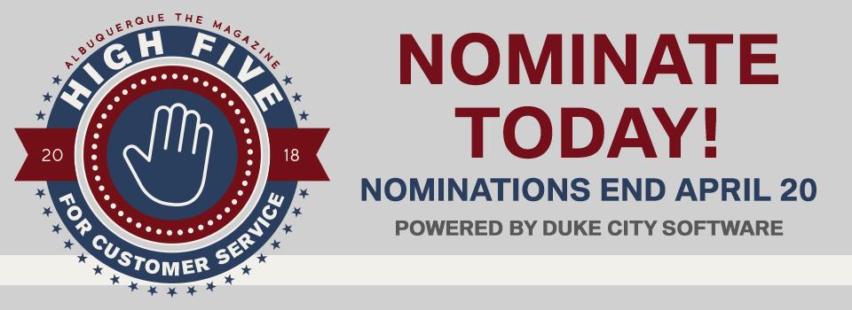 Nominations Closed